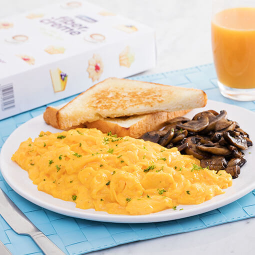 Martha Rose Shulman's Scrambled Eggs With Mushrooms