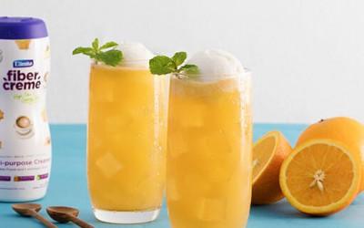 Double Cream Orange Float
