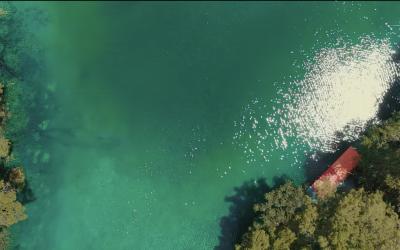 Pilih Mana, Berenang dengan Ubur-Ubur atau Nikmati Keindahan Danau Dua Rasa?