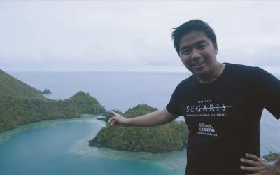 Mencari Cinta ke Ujung Timur Indonesia di Danau Cantik Berbentuh Hati