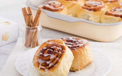 Creamy Cinnamon Roll