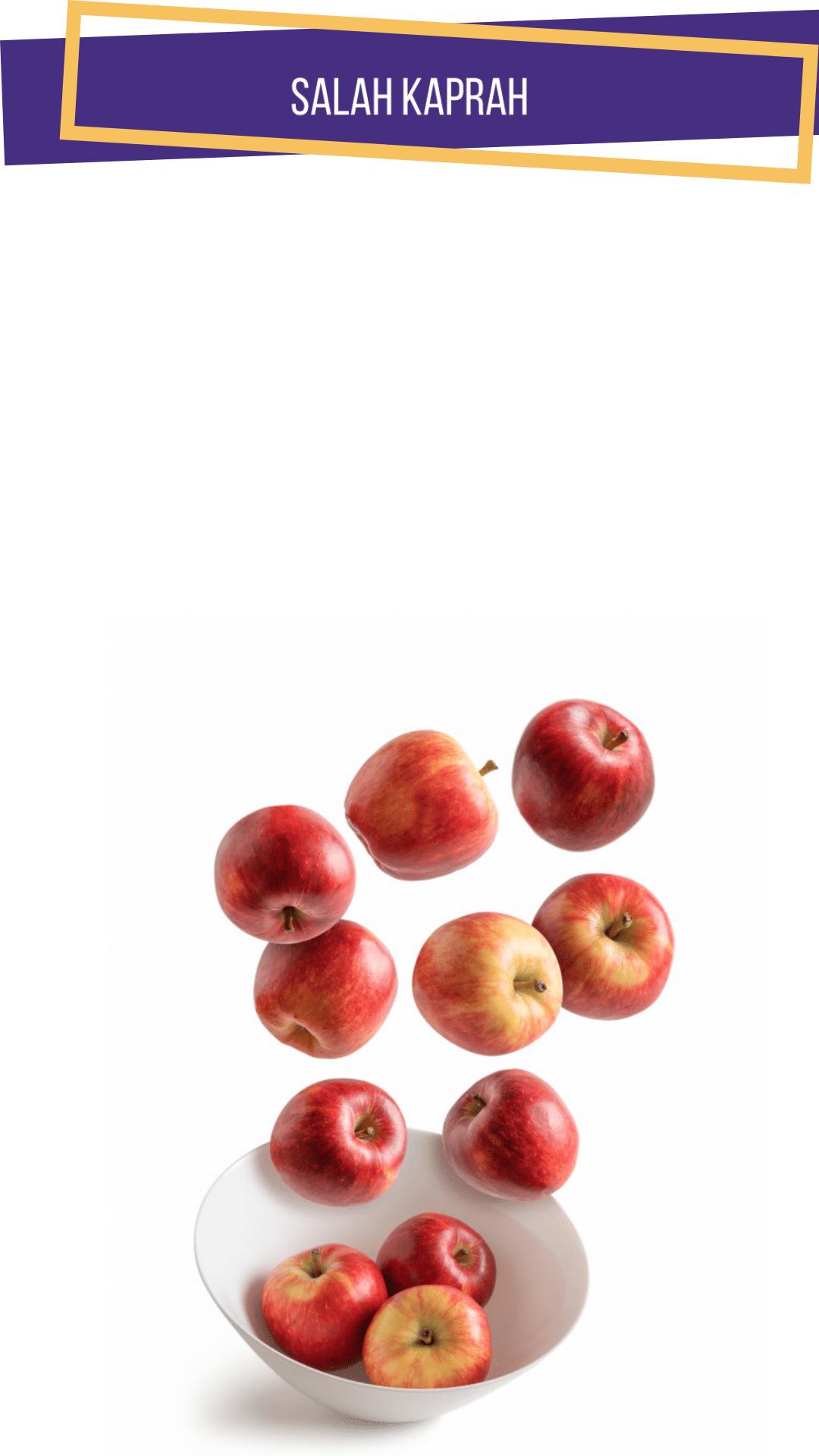 Apel Mengandung Lapisan Lilin Berbahaya? Masih Boleh Dikonsumsi?