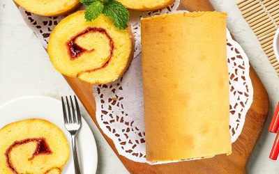 Swiss Roll Cake Anti Gagal