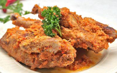 Resep Ayam Sapit Bakar