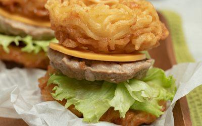 Resep Burger Beef Noodle