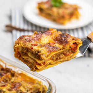 Resep Lasagna Saus Rendang