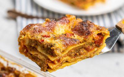 Resep Lasagna Saus Rendah