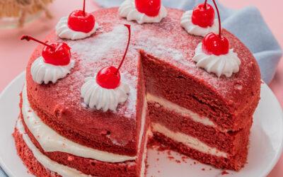 Brownies Red Velvet Keju