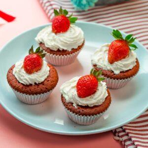 Red Velvet Cupcake FiberCreme